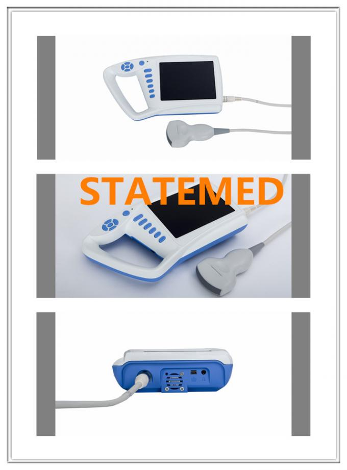 Linear / Transvagional Portable Ultrasound Scanner System Scanning Deepth 180mm