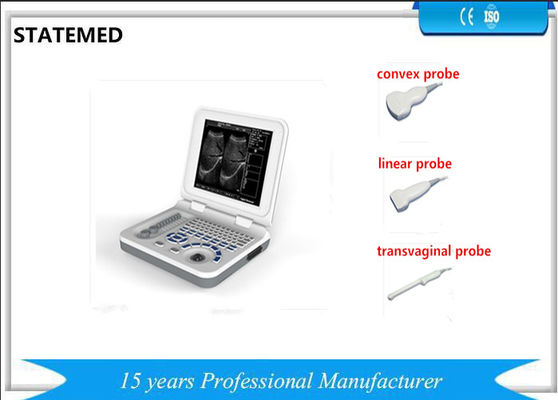 China Diagnostic Laptop Ultrasound Machine Dynamic Electron Focusing For Human Body supplier