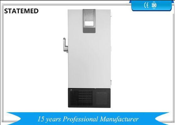 China Vertical  Ultra Low Temperature Freezer 590L 840L Direct Cooling 220v / 50Hz supplier