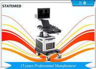 19 Inch LED Trolley Ultrasound Scanner Color Doppler Ultrasound Machine Four Probe Interface