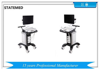 Healthcare Trolley Ultrasound Scanner System Clear Image Stable Performance