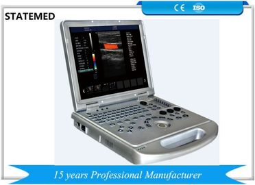 15 Inch LED Screen Doppler Medical Equipment 128 Elements For Cardiology