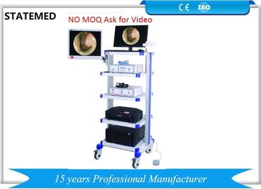 AC220V 50HZ Laparoscopic Camera System With LED Light Source / Endoscopy Trolley