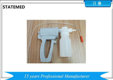 China ABS Or PVC Handle Operated White Sputum Aspirator Consumable Medical Suppliers factory