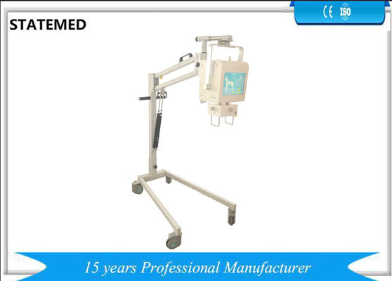 China Portable 4KW Analogue Veterinary X Ray Machine For Cats / Dogs / Horses And Human factory